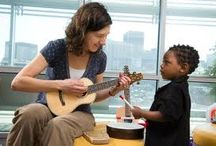 Music Therapy: An Integrative Therapy / Facts, activities, and related findings on music therapy, one of the integrative therapies popular among Lucy's Love Bus kids.