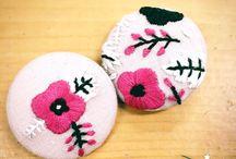 Handmade / 자수, 프랑스자수, 손바느질, 쏘잉, Sewing, Needlepoint, Needlework, 刺しゅう