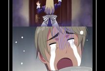 hetalia russia crying