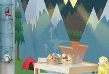murales para niños
