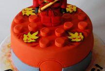 tortas infantiles varon ninjago