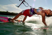 Kitesurfing / This board goos all about kitesurfing and kiteboarding