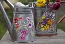 flores en pincelada