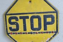 Vintage Signs & Ads / Vintage collectors items signage and ads from estate sales.