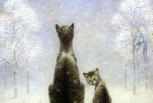 Kitties and Art...
