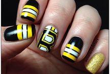 bruins nails