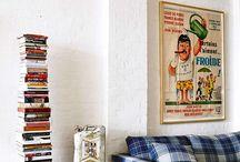 Creatief en kleurrijk interieur