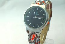 flower cloth band watch / characteristic lady watch ,various of band style