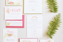 "We love Wedding Invitations! / The first ""little piece"" of your Wedding"
