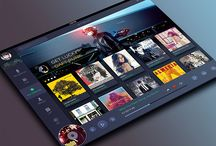 TV Interface / Smart TV Design.