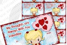 Kids Valentines Day Printable Cards