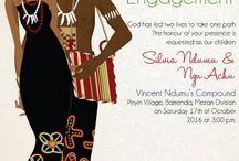 traditional engagement/wedding