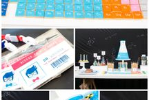 Science Party Ideas / Ideas for throwing a science themed birthday! Gorgeous science cakes, cookies, cake pops, party decorations, and science experiments, perfect for your mad scientist. / by Catch My Party