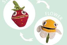 ✣ MyuM reversible harvest ✣ / MyuM ! Tous les jouets sont dans la Nature ! MyuM des peluches naturelles et végétales pour apprendre à aimer les fruits et les légumes. MyuM des peluches fait main au crochet mignonnes et éducatives. MyuM des peluches en crochet en forme de fruits et légumes. MyuM des peluches ludiques et responsables. Are you radish ? www.myum.fr