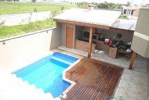 piscina parrilla
