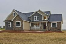 Sage Valley House Plan / Traditional styling with 5 bedrooms, 3 1/2 baths, 2-car garage, master suite on lower floor, plenty of room for a large family. #Sedgewick_Homes #NC_homebuilder #NC_custom_builder