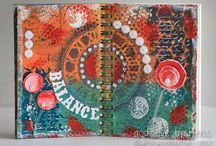 Art-- Journals / by Holly Douglas