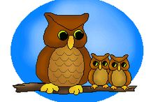 Thema uilen kleuters / Owl theme preschool / Thema uilen kleuters lessen en knutsels / Owl theme preschool, lessons and crafts