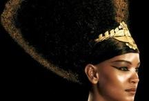 AFRICAN SUPERMODEL INSPIRE!