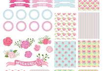 Stickers Floral