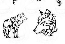 Tattoos and drawings / Tatuaggio e disegni che preferisco e che hanno il loro stile