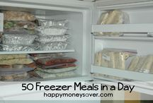 {Freezer meals} / by Hillary Stephens