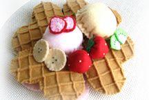 felt foods - waffles