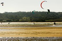 Kitesurf in Alvor / Photos of kites gear and manouvers we spoted in Ria de Alvor :)