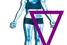 The triangle body shape