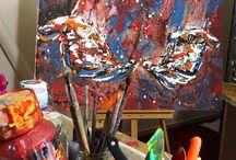 my tools / #artwork #fineart #canvas #acrylic #pastel   #paintings #paint #painting #draw #drawing #oilpainting #oilpaint  #resim #ressam #sanat #youtube #video #clip #vid  #artstudio #studio #tools #brush #palette #istanbul #boğaziçi #bosphorus #portrait #portraitart #portre #figure #hands #eyes #woman #mother #watercolor #watercolors #watercolour #charcoal #charcoalart #sketch #karakalem #exhibiton #interior #içmekan #artdrawing #artofdrawing #serdarabay #serdar_abay #selfportrait #artist