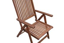 Wooden Folding Patio Chairs