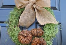 Fall decorations  / by Leslie Rackard