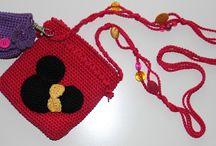 Minnie Mouse gehaakt tasje