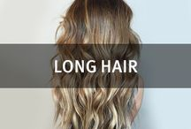 Long Hair / Growing out your hair? Find inspiration here.