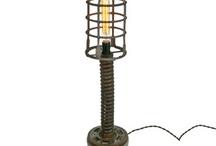 Steampunk Lamps / by Desert Gal Treasures