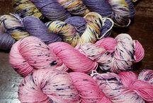 my yarn / filati tinti a mano con piante tintorie