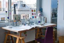 Offices | Escritórios / Inspiração para escritórioa - Inspirations for office