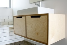 Plywood cabinetry