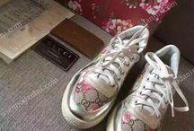 Обувь женская - повседневные кроссовки