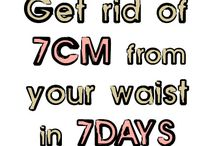 get rid of 7 cm in 7 days