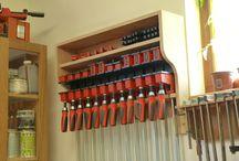 Clamp racks