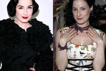 Dita von tesse - Дита фон Тиз / Dita Von Teese (born Heather Renée Sweet; September 28, 1972) Ди́та фон Тиз ( 28 сентября 1972 года)