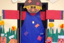 PTA door decorations