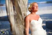 """Bride Bri / getting  ready to our beautiful bride and her friends and family ... Delight in your moment and look gorgeous on your wedding day, look like yourself, keep the """"you, only better"""" make up airbrush www.sarahgarnier.com wedding photographer @Del Sol Photography"""