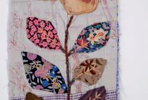 Fabric textile art / by Carole L