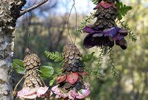 Školka - Podzimní tvoření na zahradě