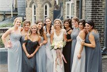 Fine Art Weddings: Bridesmaids