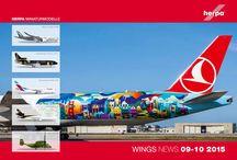 Herpa Wings News 09-10 2015 / Brohure of Herpa Wings News 09-10 2015 Catalogo de Herpa Wings News 09-10 2015