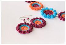 Virkatut korut / Crochet jewelry