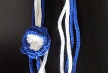 Szydełkowa biżuteria / Crochet jewellery